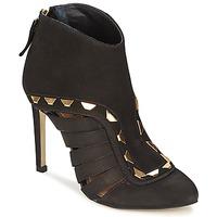 Topánky Ženy Nízke čižmy Dumond ELOUNE Čierna