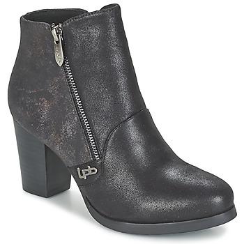 Topánky Ženy Čižmičky LPB Shoes BALTIMORE Čierna