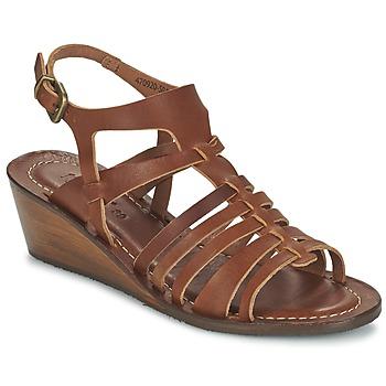 Topánky Ženy Sandále Kickers FASTA Hnedá