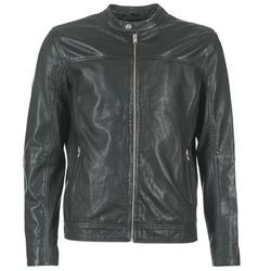 Oblečenie Muži Kožené bundy a syntetické bundy Selected BIRMINGHAM Čierna