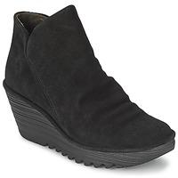Topánky Ženy Polokozačky Fly London YIP Čierna