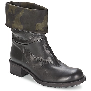 Topánky Ženy Polokozačky JFK TARZAN čierna