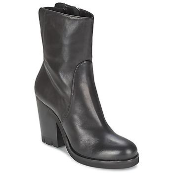 Topánky Ženy Čižmičky Strategia GUANTO Čierna