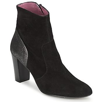 Topánky Ženy Čižmičky Studio Paloma BABY SILK čierna