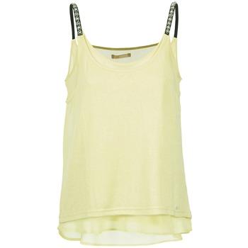 Oblečenie Ženy Tielka a tričká bez rukávov Les P'tites Bombes BRICCOM Žltá