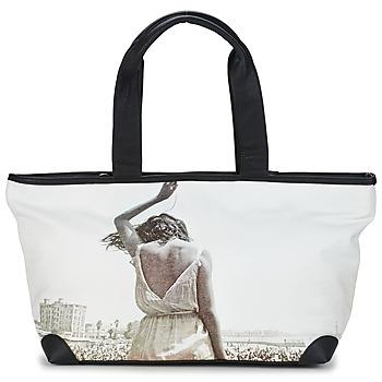 Tašky Ženy Veľké nákupné tašky  Kothai MICRO GIRL čierna / šedá