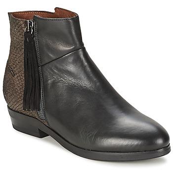 Topánky Ženy Polokozačky Coqueterra PATRICE Čierna