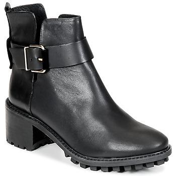 Topánky Ženy Polokozačky Miista GRETA Čierna