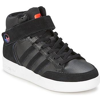 Topánky Deti Členkové tenisky adidas Originals VARIAL MID J Čierna / Červená / Modrá