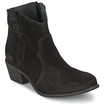 Topánky Ženy Polokozačky Shoe Biz BROPE Čierna