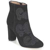 Topánky Ženy Čižmičky Bocage ELLIOT Čierna
