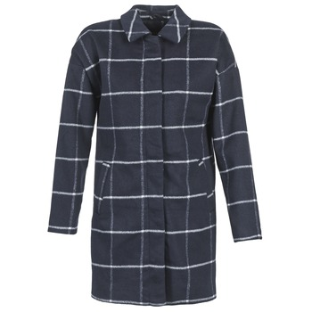 Oblečenie Ženy Kabáty Vila VILERKA Námornícka modrá