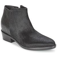 Topánky Ženy Polokozačky Alberto Gozzi PONY NERO Čierna