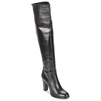 Topánky Ženy Čižmy do mesta Alberto Gozzi GRINGO NERO Čierna