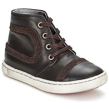 Topánky Chlapci Polokozačky Tartine Et Chocolat JR URBAIN čokoládová