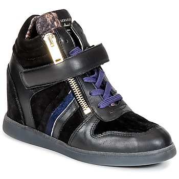 Topánky Ženy Členkové tenisky Serafini LEXINGTON Čierna