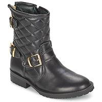 Topánky Dievčatá Polokozačky Hip RAVUTE čierna
