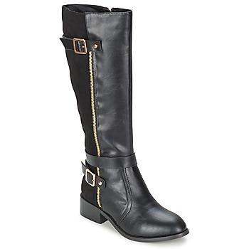 Topánky Ženy Čižmy do mesta Moony Mood IMMA čierna