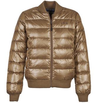 Oblečenie Ženy Vyteplené bundy Franklin & Marshall JKWAL511 Hnedá