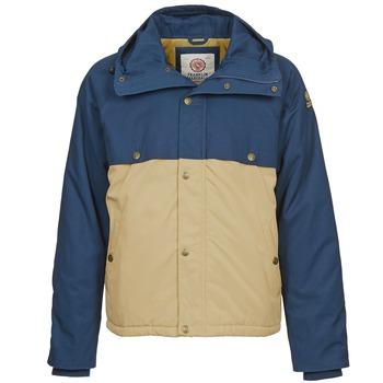 Oblečenie Muži Parky Franklin & Marshall JKMVA034 Modrá / Béžová