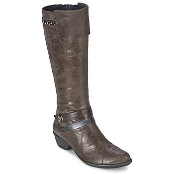 Topánky Ženy Čižmy do mesta Dorking NINA šedá