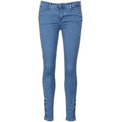 Oblečenie Ženy Džínsy Slim Acquaverde ALFIE Modrá / Clear