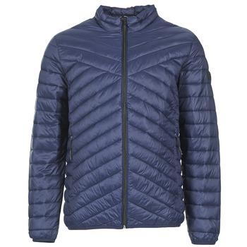 Oblečenie Muži Vyteplené bundy Jack & Jones CALL CORE Námornícka modrá