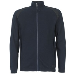 Oblečenie Muži Cardigany Jack & Jones STREET CORE Námornícka modrá