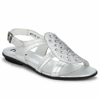 Topánky Ženy Sandále Fidji BARRETA Strieborná