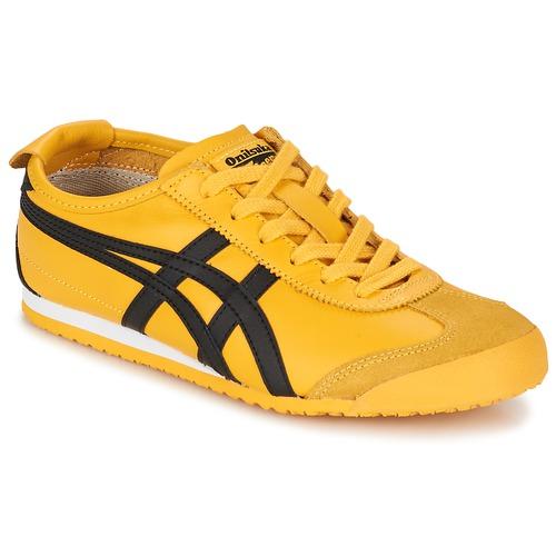 Topánky Nízke tenisky Onitsuka Tiger MEXICO 66 Žltá / Čierna