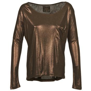 Oblečenie Ženy Tričká s dlhým rukávom Chipie NINON Zlatá