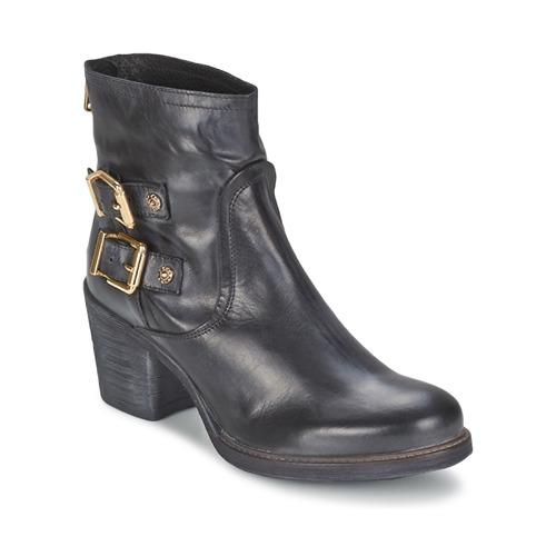 Topánky Ženy Čižmičky Meline LODU Čierna