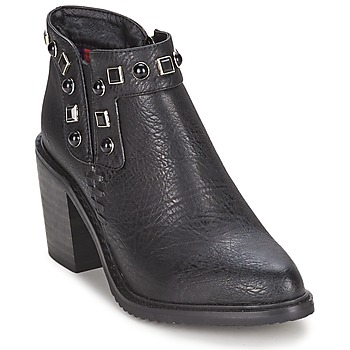 Topánky Ženy Nízke čižmy Gioseppo MOSENA Čierna