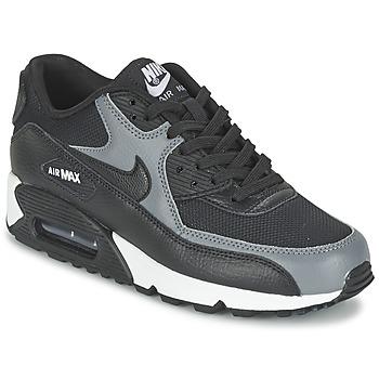 Topánky Ženy Nízke tenisky Nike AIR MAX 90 W čierna / šedá