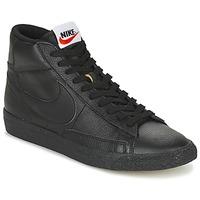 Topánky Muži Členkové tenisky Nike BLAZER MID čierna