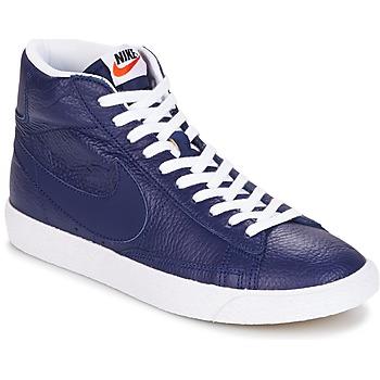 Topánky Muži Členkové tenisky Nike BLAZER MID Modrá