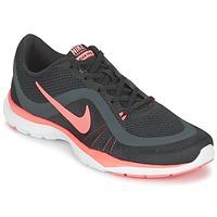 Topánky Ženy Fitness Nike FLEX TRAINER 6 W čierna / Ružová