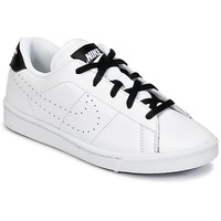 Topánky Chlapci Nízke tenisky Nike TENNIS CLASSIC PREMIUM PRESCHOOL Biela / čierna