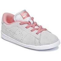 Topánky Dievčatá Nízke tenisky Nike TENNIS CLASSIC PREMIUM TODDLER šedá / Ružová
