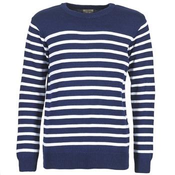 Oblečenie Muži Svetre Casual Attitude FARCIELLE Námornícka modrá / Biela