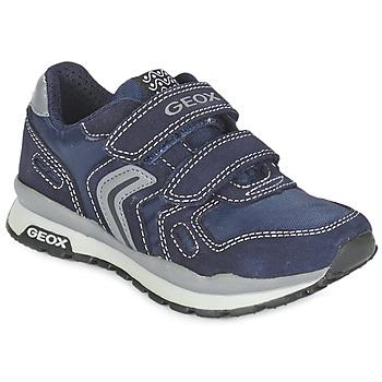 Topánky Dievčatá Nízke tenisky Geox J PAVEL Modrá