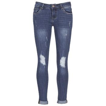 Oblečenie Ženy Džínsy Slim Yurban IFOUNOLE Modrá / Medium