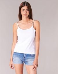 Oblečenie Ženy Tielka a tričká bez rukávov BOTD FAGALOTTE Biela