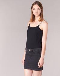 Oblečenie Ženy Tielka a tričká bez rukávov BOTD FAGALOTTE Čierna
