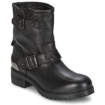 Topánky Ženy Polokozačky Love Moschino JA24034 čierna