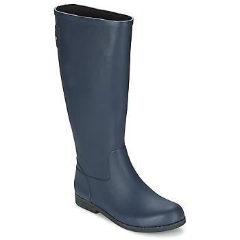 Topánky Ženy Čižmy do dažďa Swims STELLA BOOT Námornícka modrá