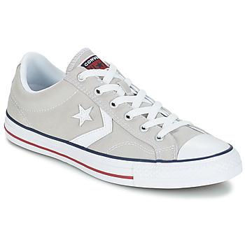 Topánky Nízke tenisky Converse STAR PLAYER CORE CANVAS OX šedá / Clear / Biela