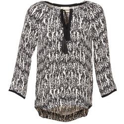 Oblečenie Ženy Blúzky Stella Forest BTU010 Krémová / Čierna