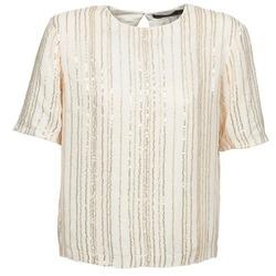 Oblečenie Ženy Blúzky Antik Batik ROMINA Krémová
