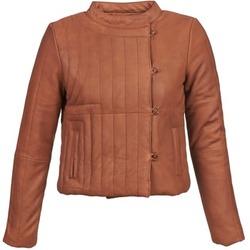 Oblečenie Ženy Kožené bundy a syntetické bundy Antik Batik YOANN Koňaková